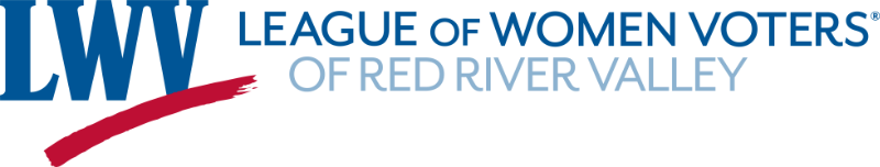 League of Women Voters of Red River Valley logo