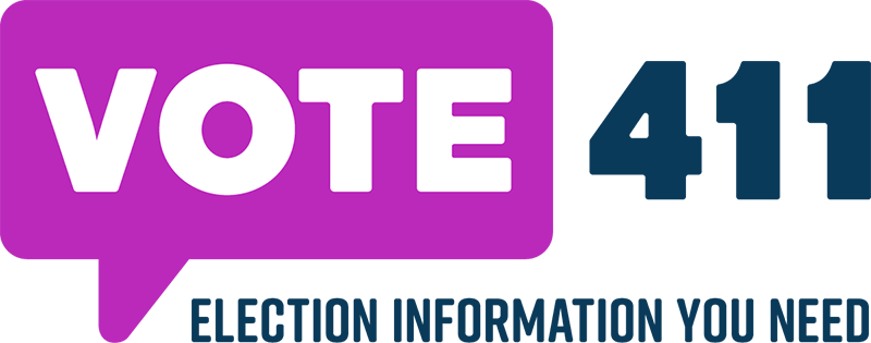 Vote 411 - Election Information logo